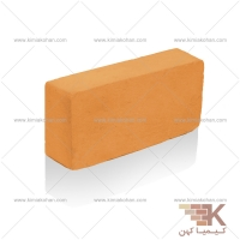 آجر قزاقی کامل (نارنجی) 20x10cm