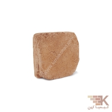 آجر قزاقی چهارگوش رستیک (خاکی) 10x10cm