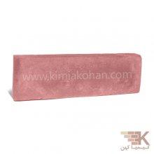 آجر قزاقی پلاک (قرمز) 25x7.5cm