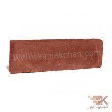 آجر قزاقی پلاک (قرمز اخرایی) 23x7cm
