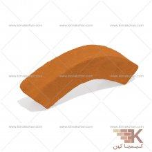 آجر قزاقی دور ستون بزرگ (نارنجی) 30x6cm