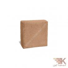 آجر قزاقی چهارگوش (خاکی) 10x10cm