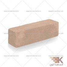 آجر قزاقی نیمه (خاکی) 20x5.5cm