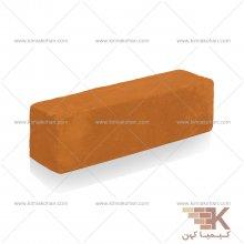 آجر قزاقی نیمه (نارنجی) 20x5.5cm