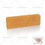 آجر قزاقی پلاک (نارنجی) 25x7.5cm