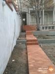آجر قزاقی کامل - کف فرش